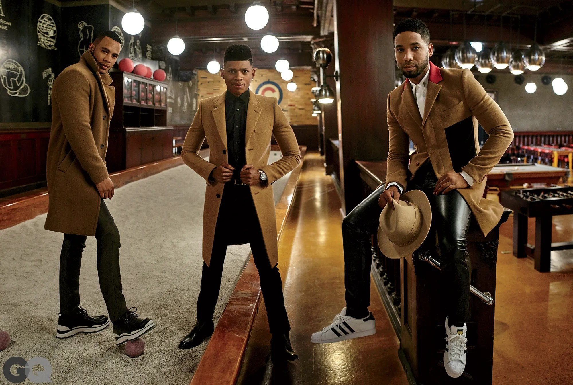 Photos The Cast of Empire in This Seasons Hottest Color Camel  GQ