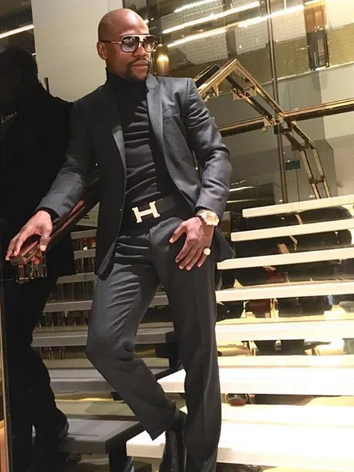 Floyd Quot Money Quot Mayweather Spent One Million Dollars On A New Watch Gq