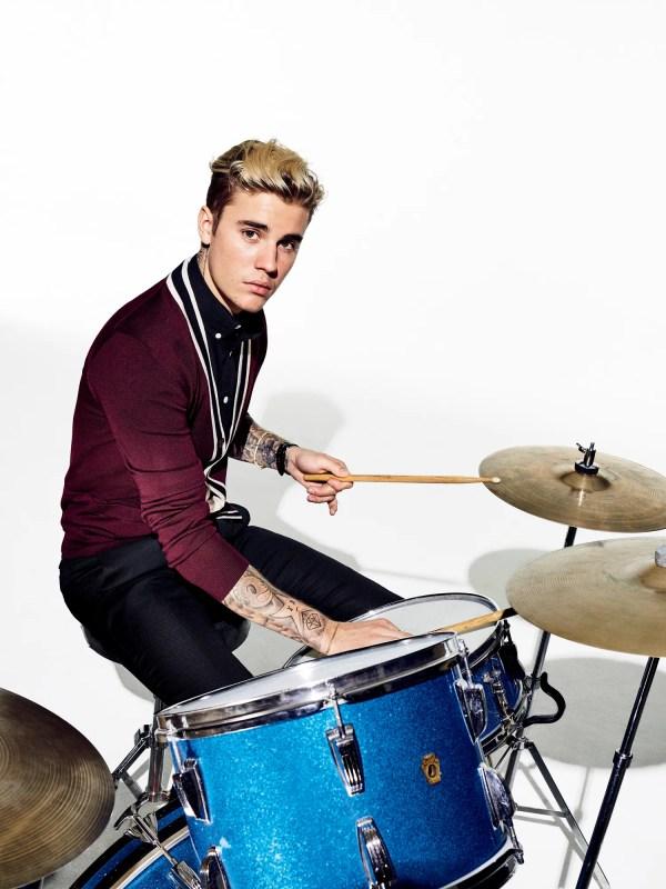 Justin Bieber Gq Cover Shoot