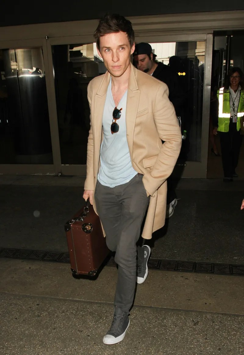 The Eddie Redmayne Guide To Casually Showing Some Chest