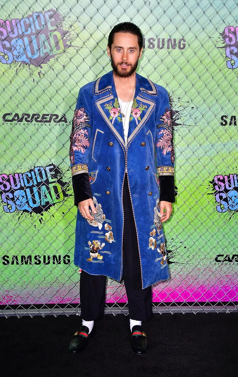 Its All Gucci Jared Leto Met His Style Match  GQ