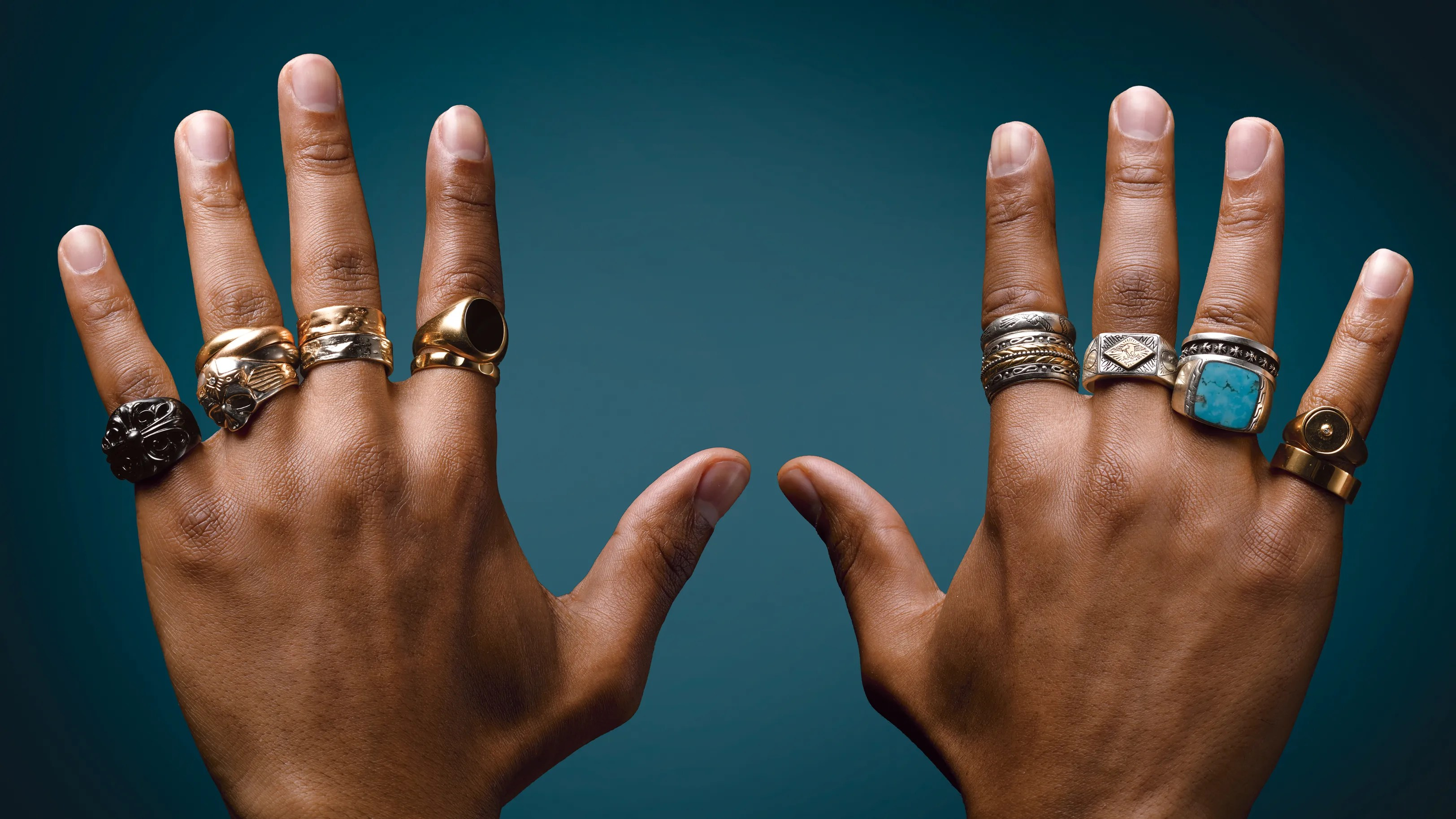How My Obsession With Rings Became a Style Trademark  GQ