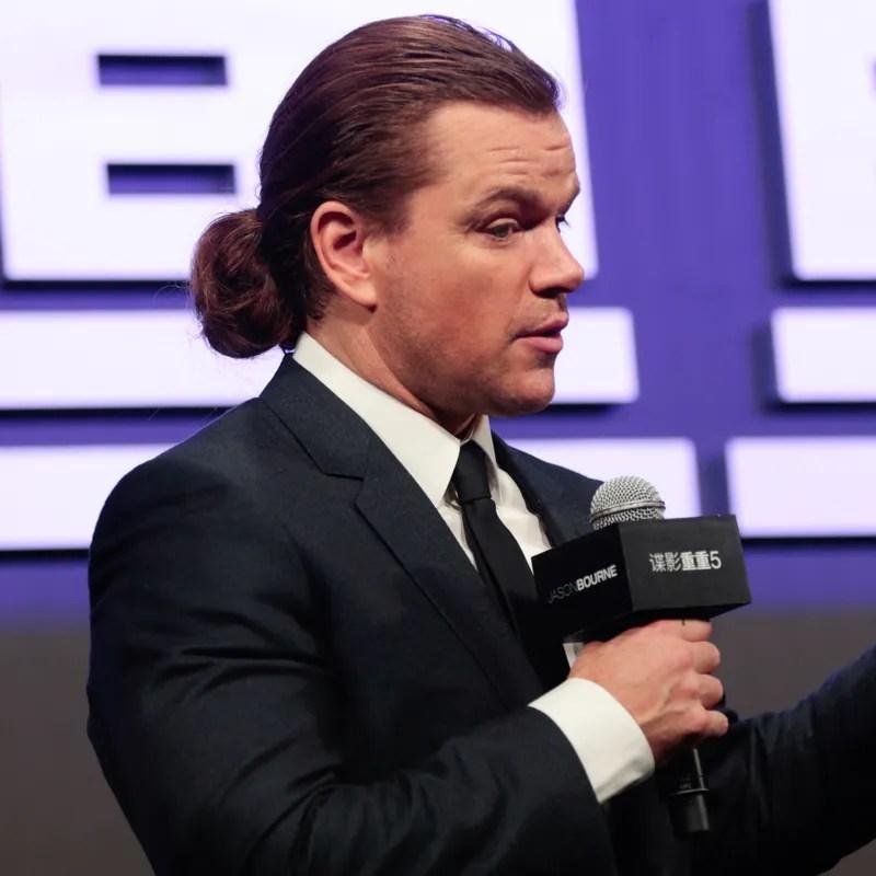Matt Damon's Hair Is Magical GQ