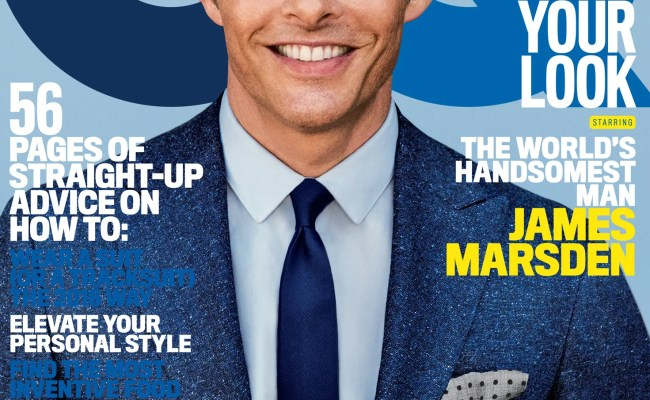 James Marsden The World S Handsomest Man Is Back In