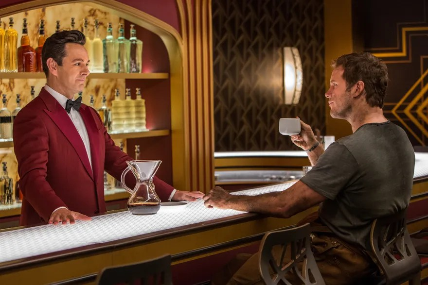 Image result for passengers movie michael sheen