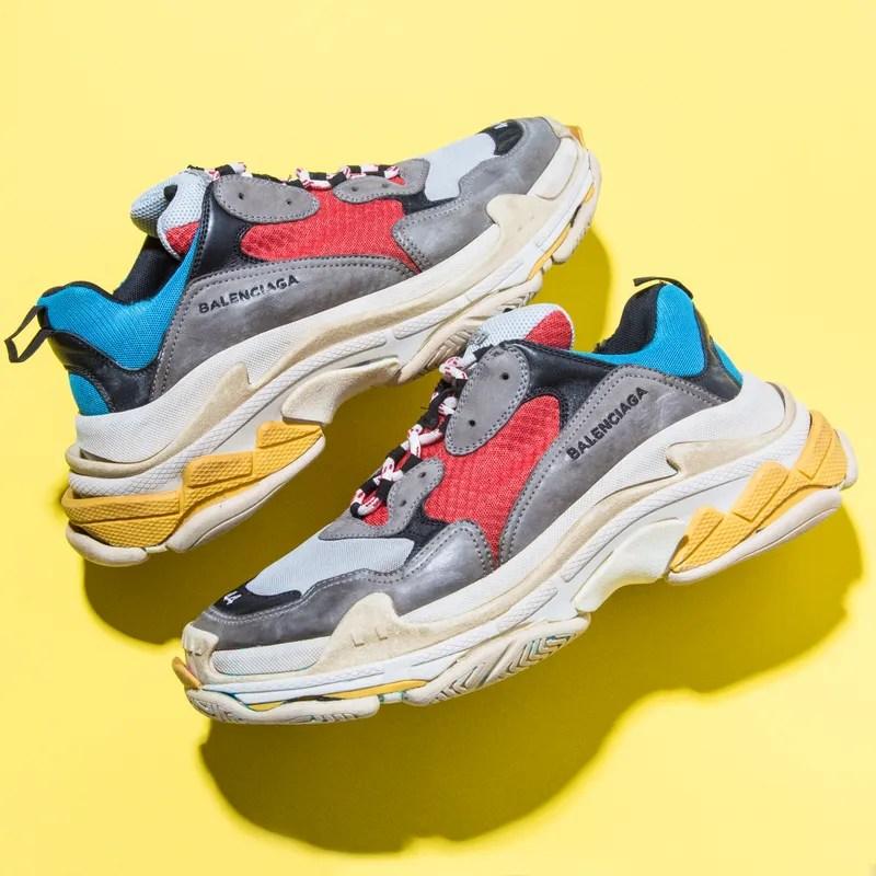 """Résultat de recherche d'images pour """"chunky sneakers balenciaga"""""""