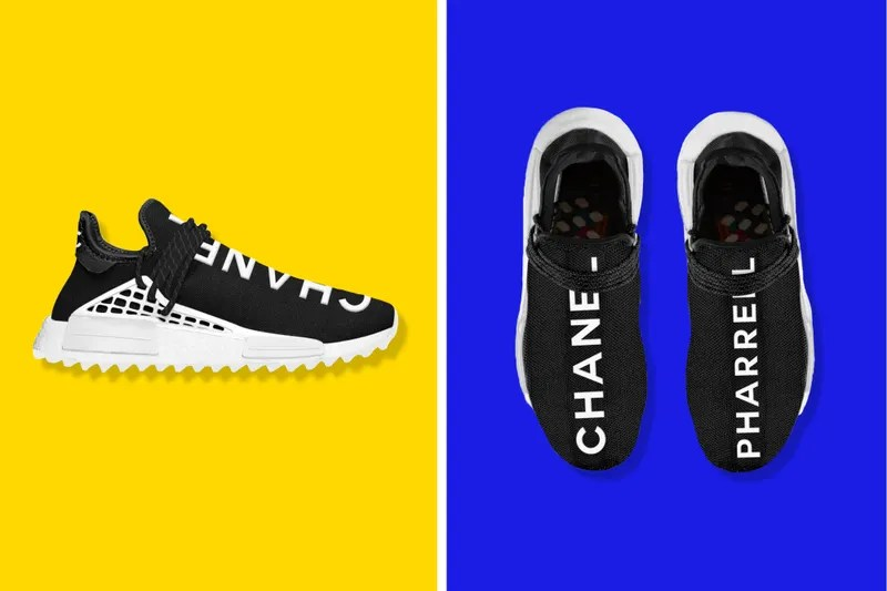 Pharrell X Chanel X Adidas Collab Possibly In The Works - BLEU 024810e38