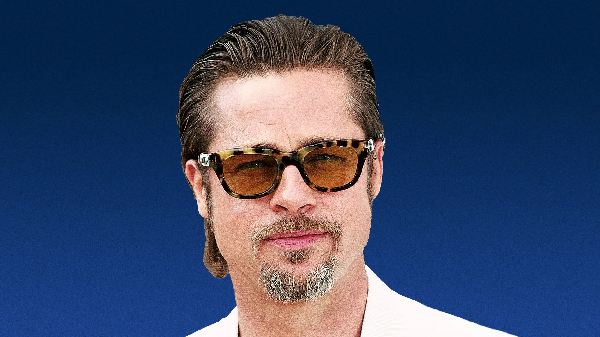 We Can All Learn From Brad Pitts Epic Grooming Evolution GQ