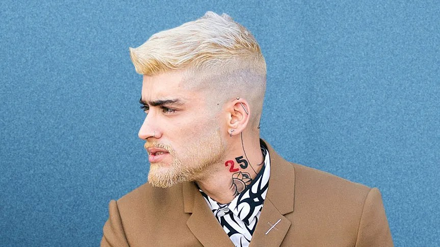 zayn malik s blonde