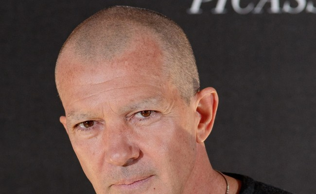 Antonio Banderas Shaved Off His Eyebrows And Other