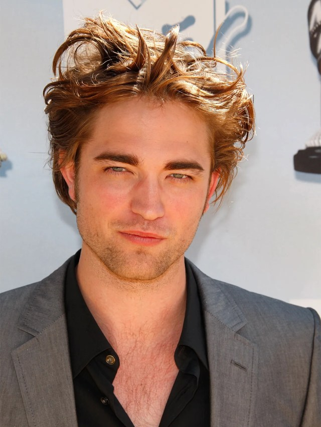 here's how to pull off robert pattinson's hair   gq