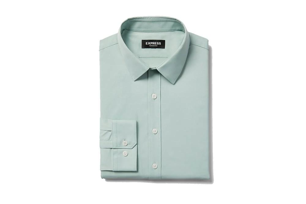 Express performance dress shirt