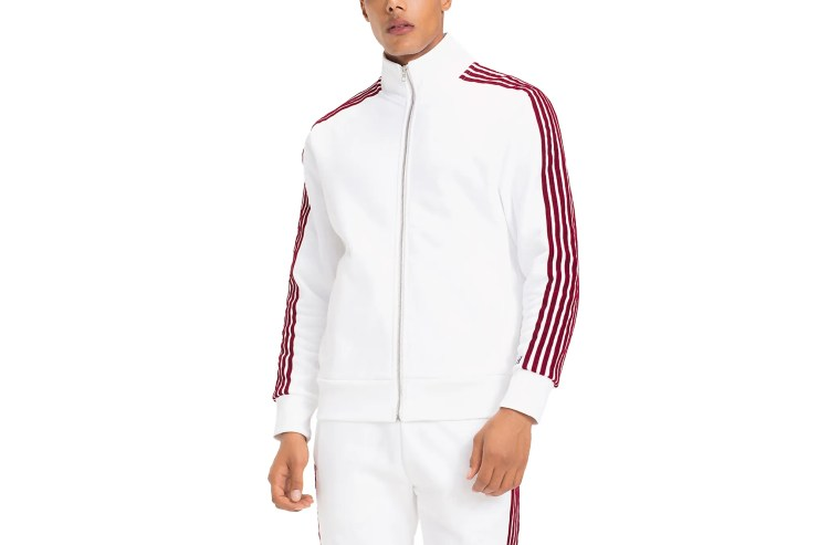 Tommy x Lewis striped track jacket