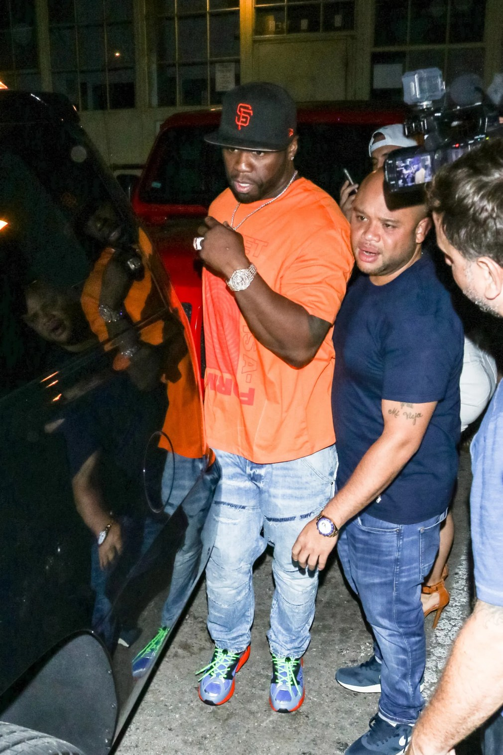 LOS ANGELES CA  AUGUST 06 50 Cent is seen on August 06 2019 in Los Angeles California.