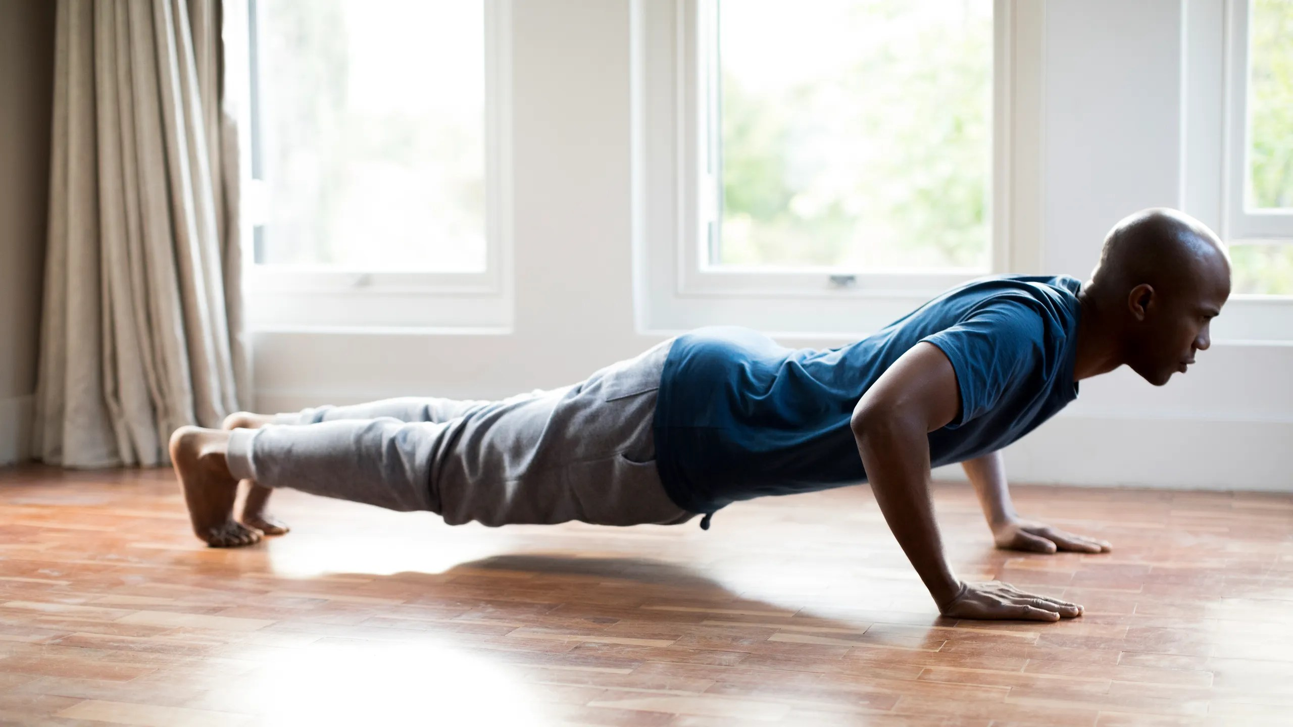 Our Best At Home Workouts For Stress Relief Gq