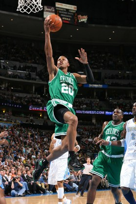 Ray Allen in a game
