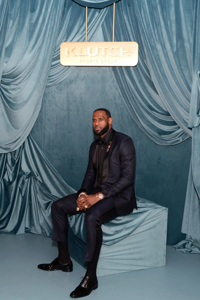 LeBron James attends the Klutch Sports Group AllStar Dinner