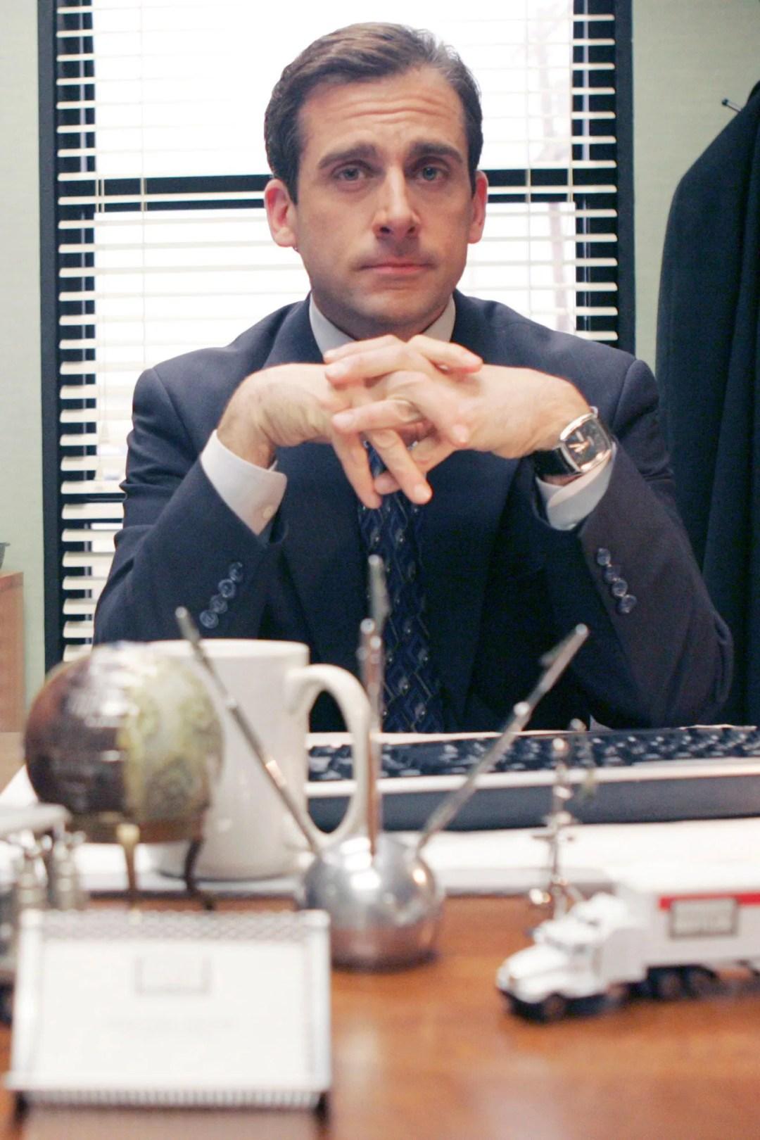 Steve Carell as Michael Scott