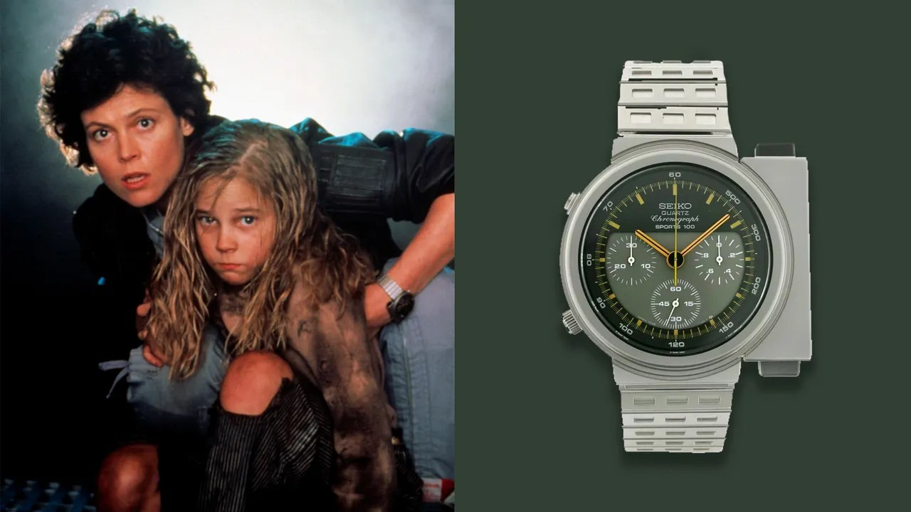 Photo of The Seiko Watch From 'Aliens' Was Made for 2179, but It Looks Awesome in 2020, Too