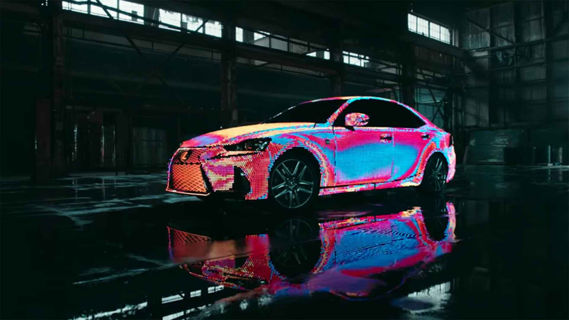 Cars Wallpaper Gta Watch 41 999 Leds Continuously Change The Colour Of This