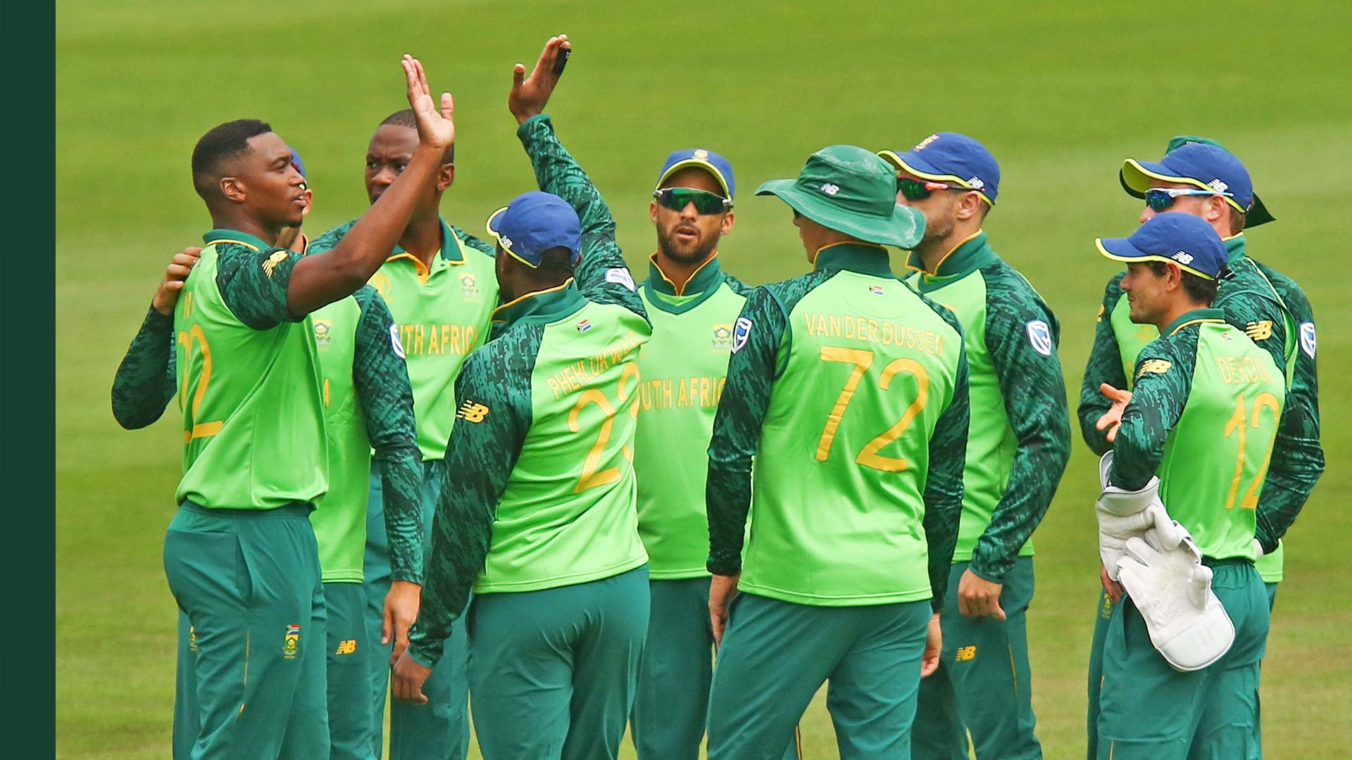 South Africa Team For World Cup Squad Info Schedule