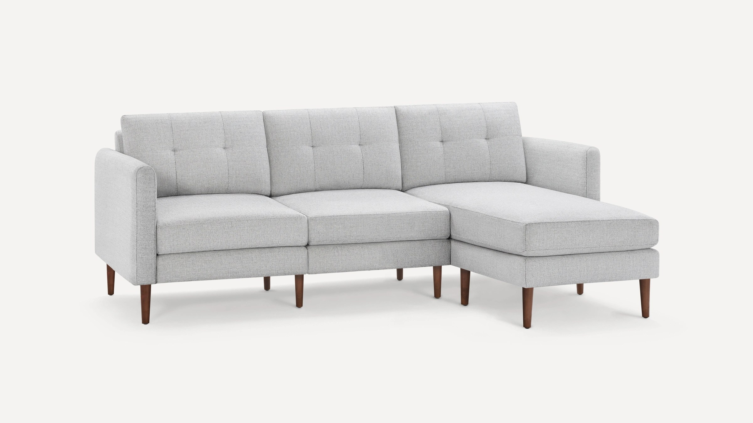 the nomad fabric sectional sofa burrow
