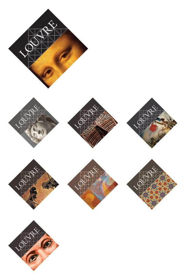Louvre Museum Identity Design - Graphis