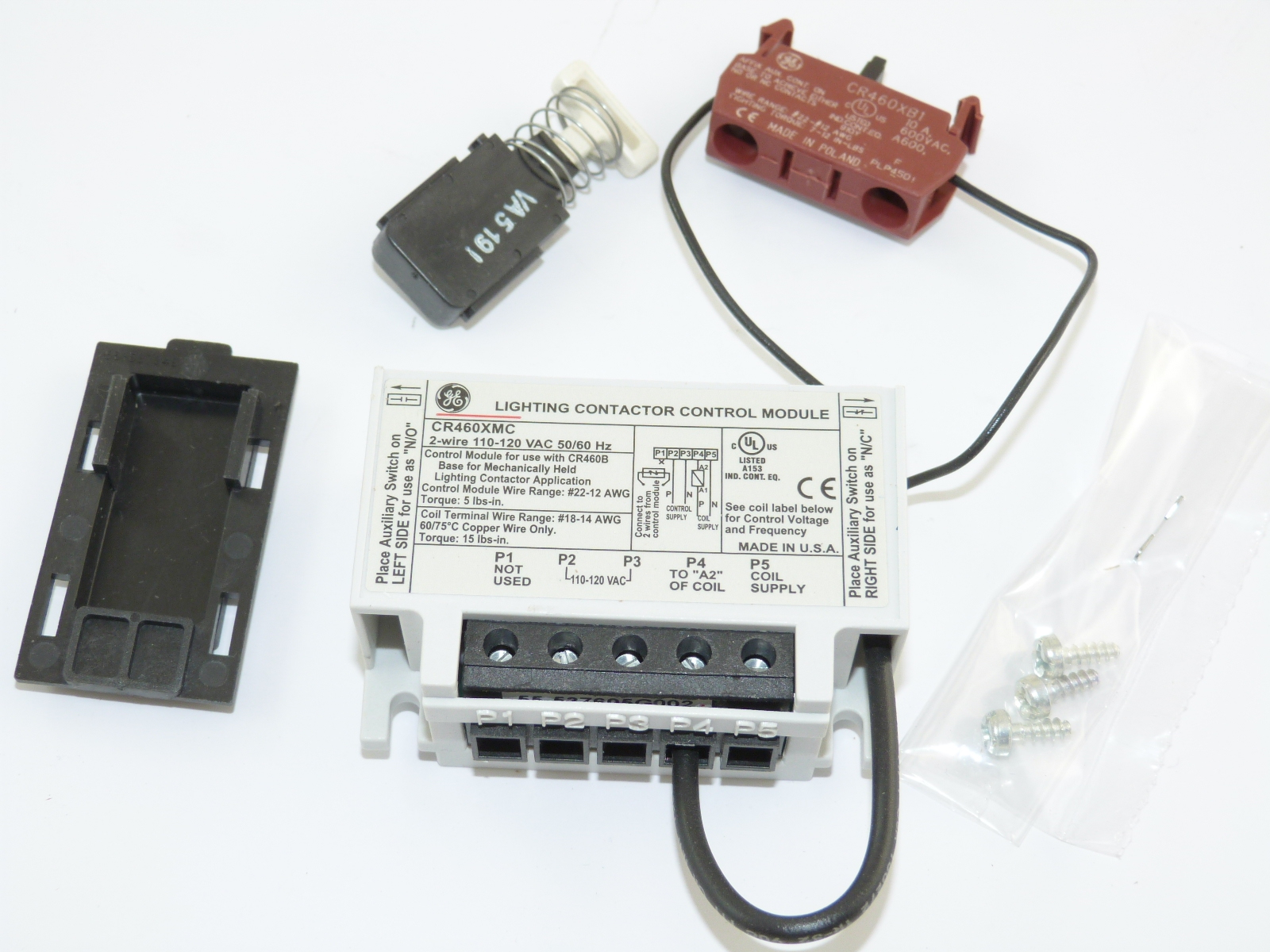 hight resolution of cr460xmc general electric lighting contactor accessories