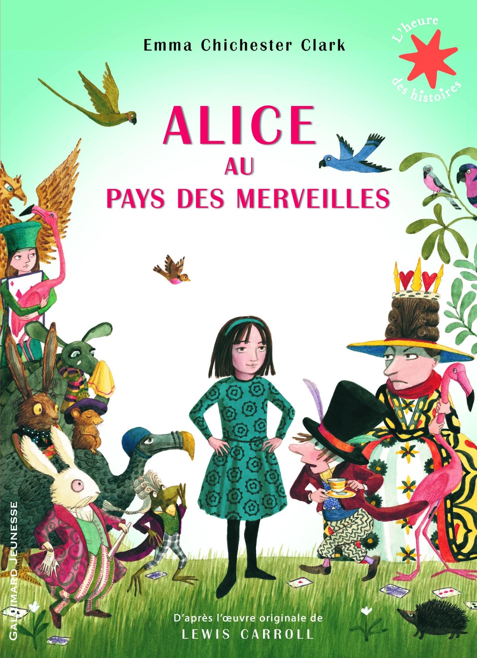 Alice Au Pays Des Merveilles Conte : alice, merveilles, conte, Livre, Alice, Merveilles, Gallimard, Jeunesse