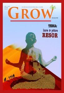Omslag: GROW magazine vol 10, Tema: Inre & Yttre resor