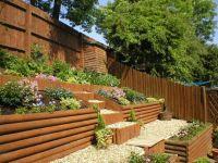 Landscaping a slope on Pinterest   Hillside Landscaping ...