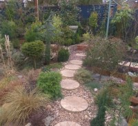 Gravel garden fully planted : Grows on You