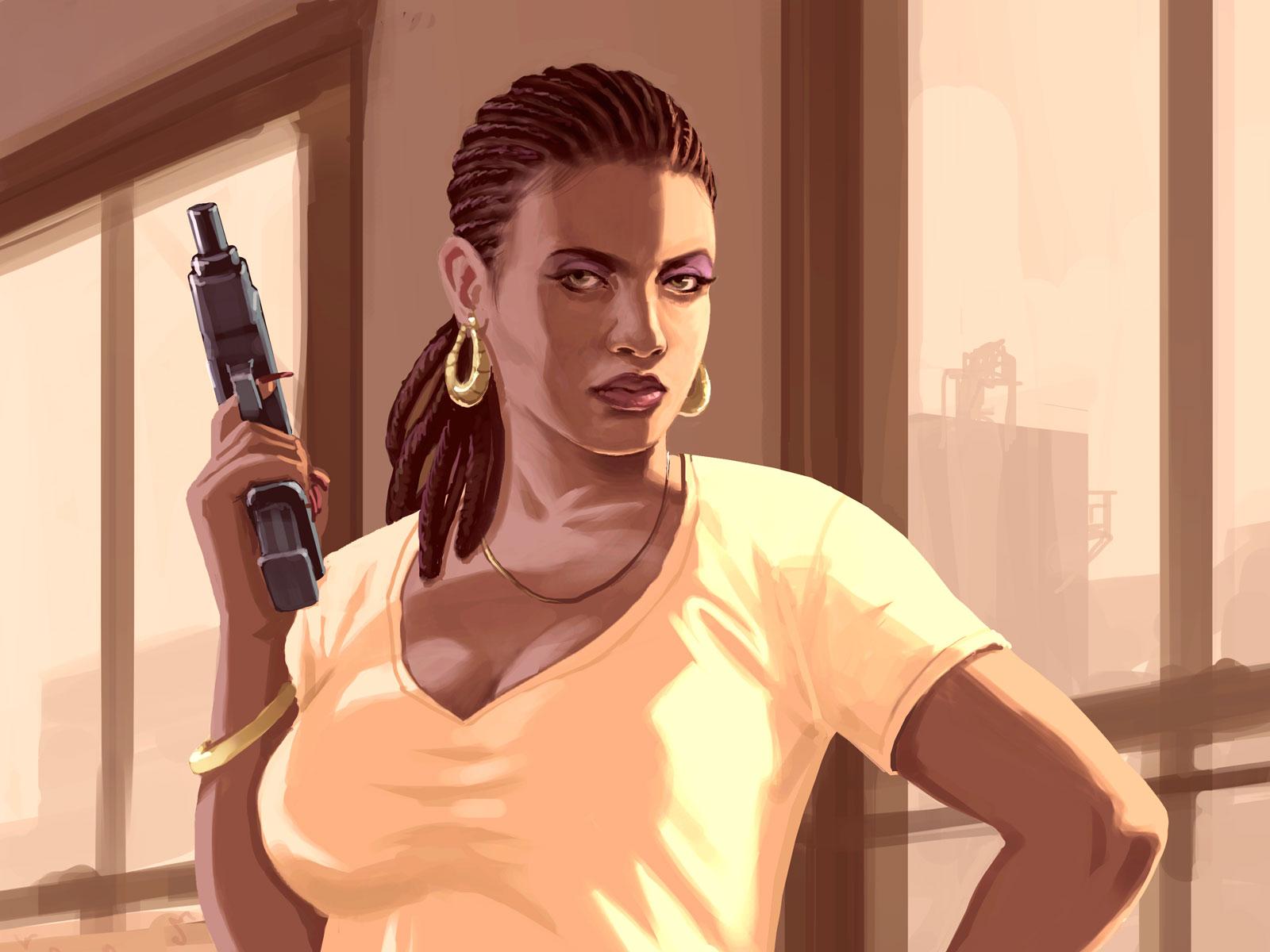 Gta Iv Wallpaper Girl Grand Theft Auto Iv Desktop Wallpapers