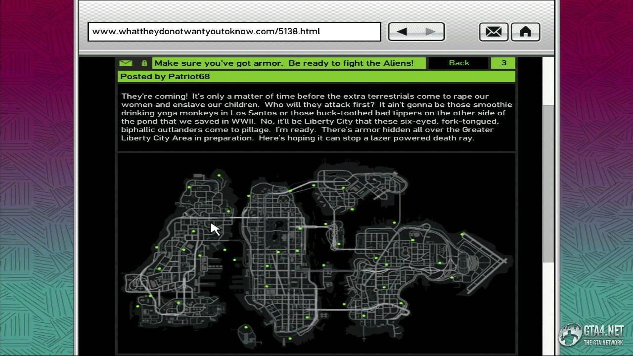 GRAND THEFT AUTO IV  Map Liberty City