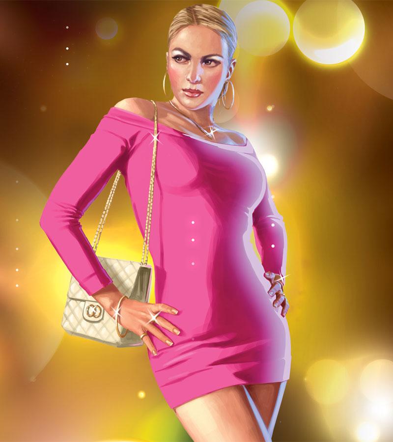Gta Iv Wallpaper Girl Grand Theft Auto Iv The Ballad Of Gay Tony Artwork
