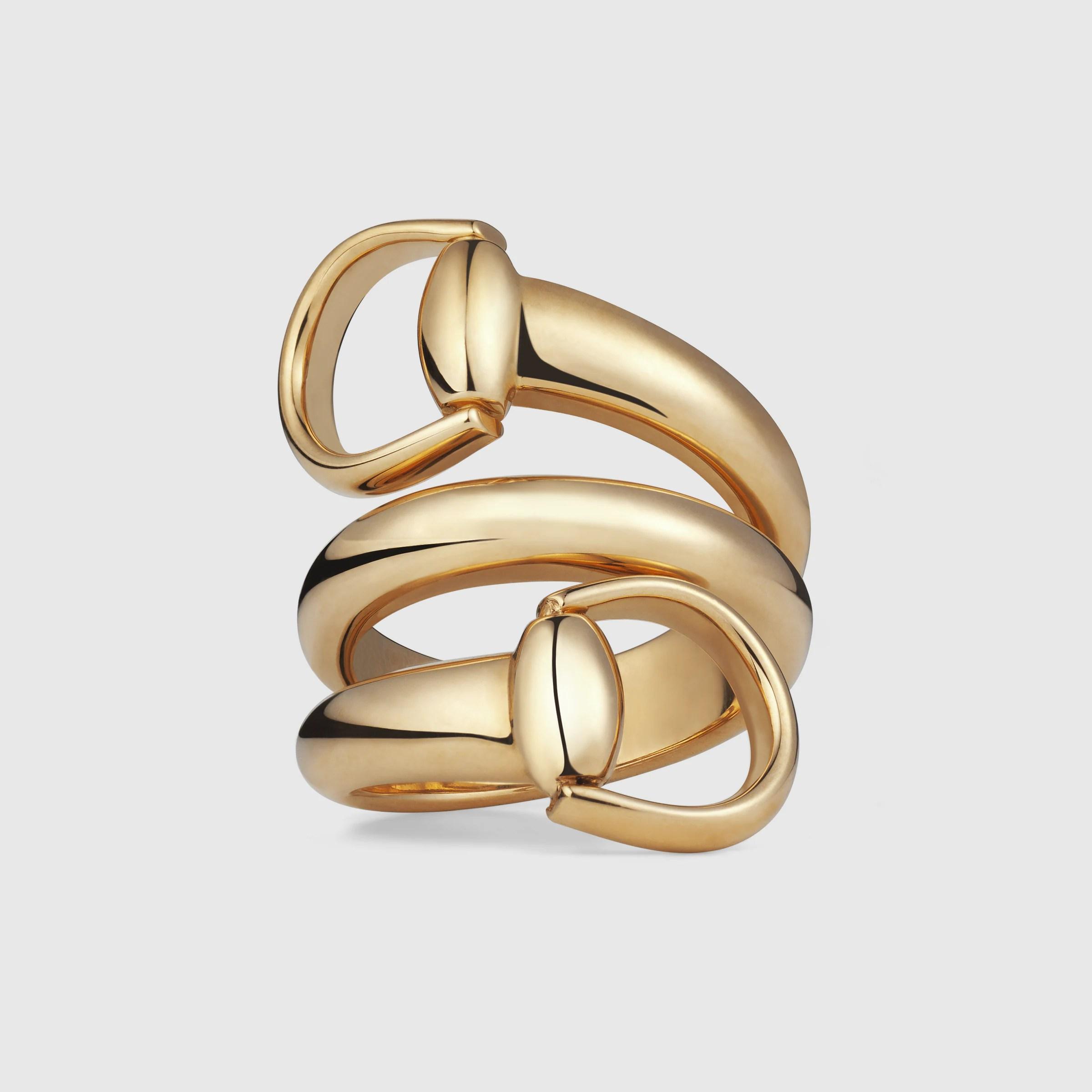Horsebit ring  Gucci Fine Rings 233961J85008000