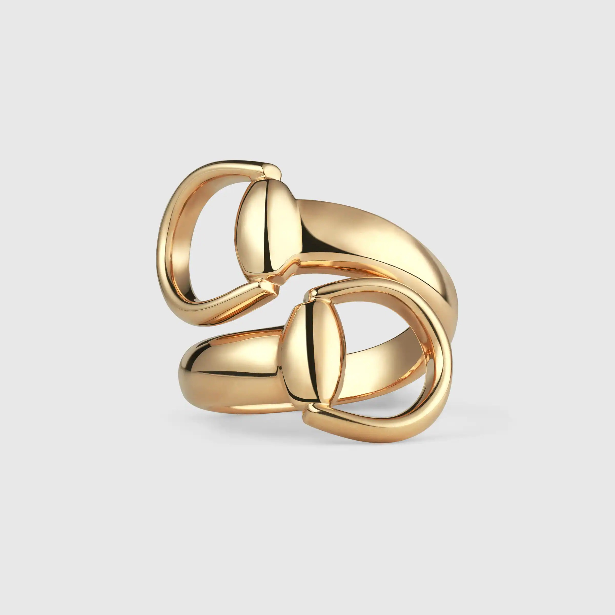 Horsebit ring in yellow gold  Gucci Fine Rings 325812J85008000