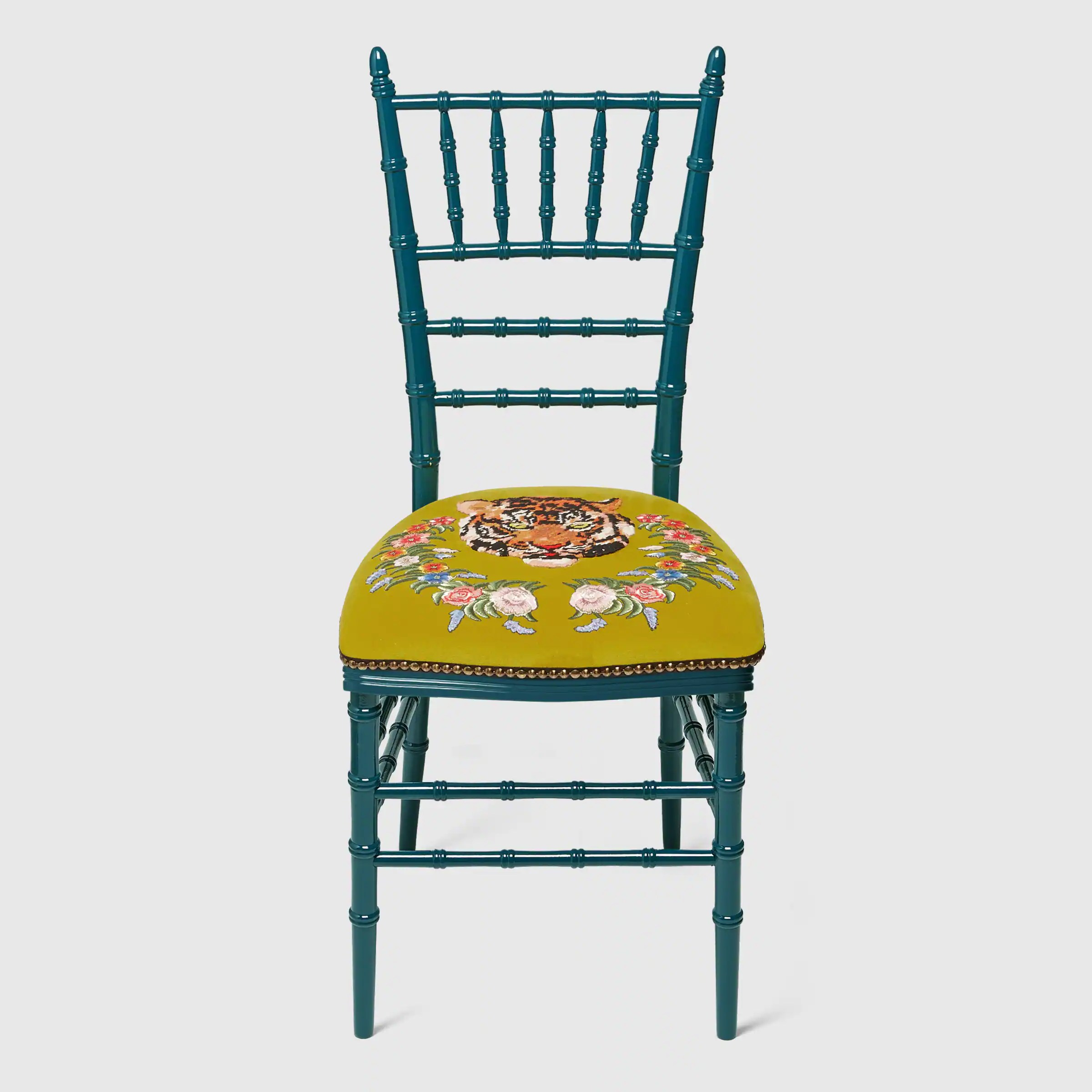 chiavari chairs china posture ball office chair with embroidered tiger gucci