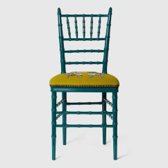 Chiavari Chairs China Chair Covers Of Cincinnati With Embroidered Tiger Gucci