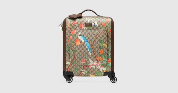 Gucci Tian GG Supreme carry-on