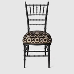 Stool Chair Price In Pakistan Rubbermaid High Philippines Chairs Shop Gucci Com Chiavari With Gg Jacquard