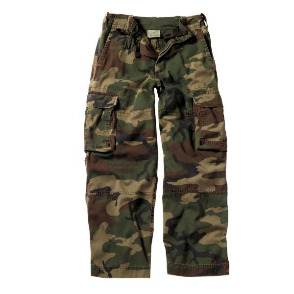 Pair Boys Camo Cargo Pants Nwt - Size 18 20