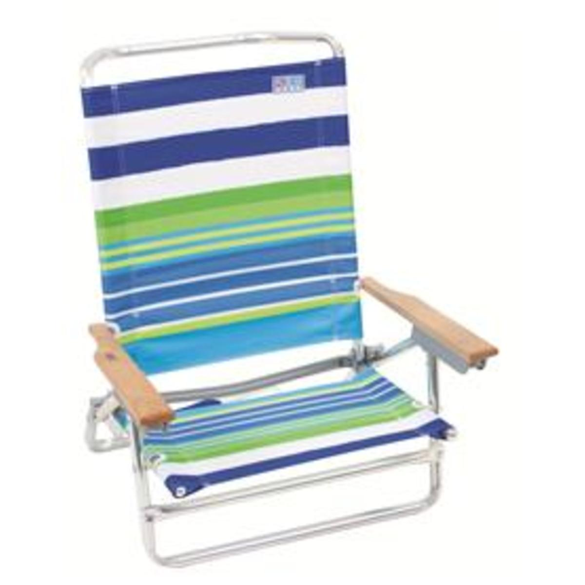 high back beach chair chairs at target 5 position ebay