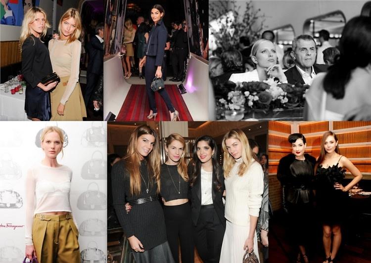 Last Nights Parties Models Karolina Kurkova Lily