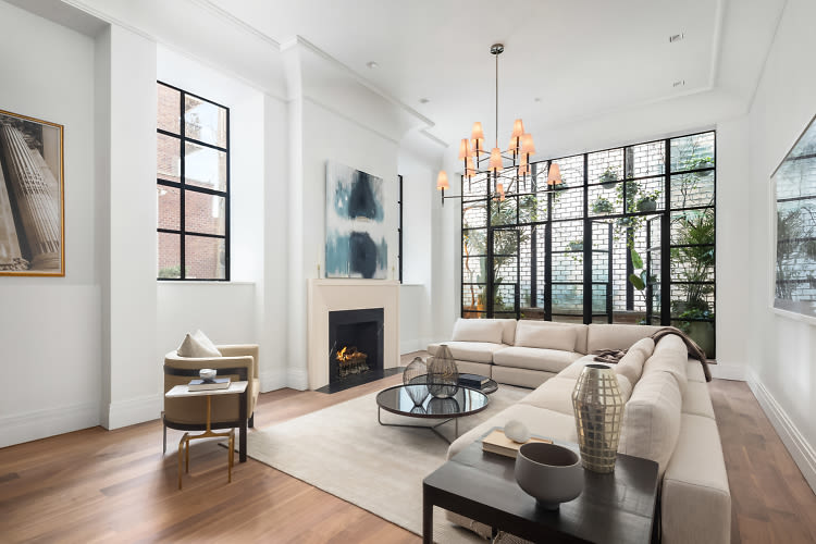 The 23 Million West Village Townhouse Lady Gaga Rented In NYC