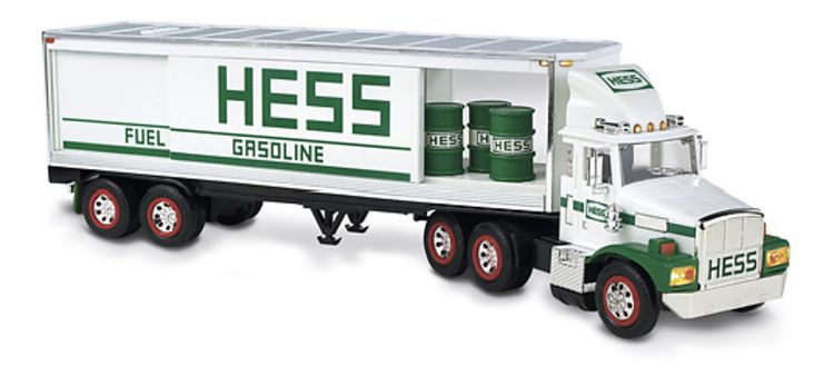 All I Want For Christmas Is A Hess Truck