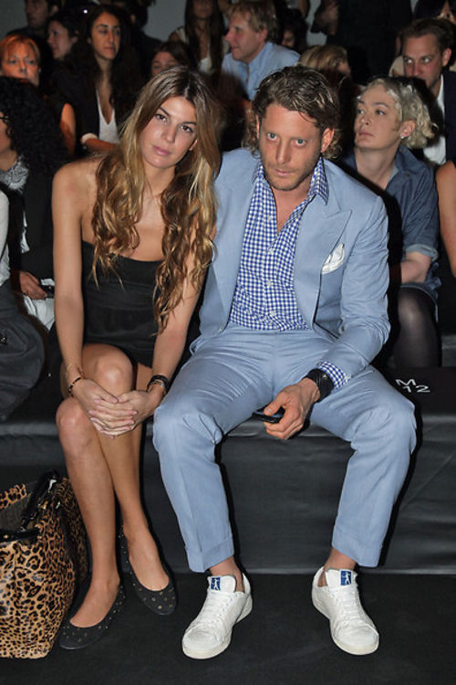 Lapo Elkann At Fendi Show In Milan Your Quick Gossip Primer
