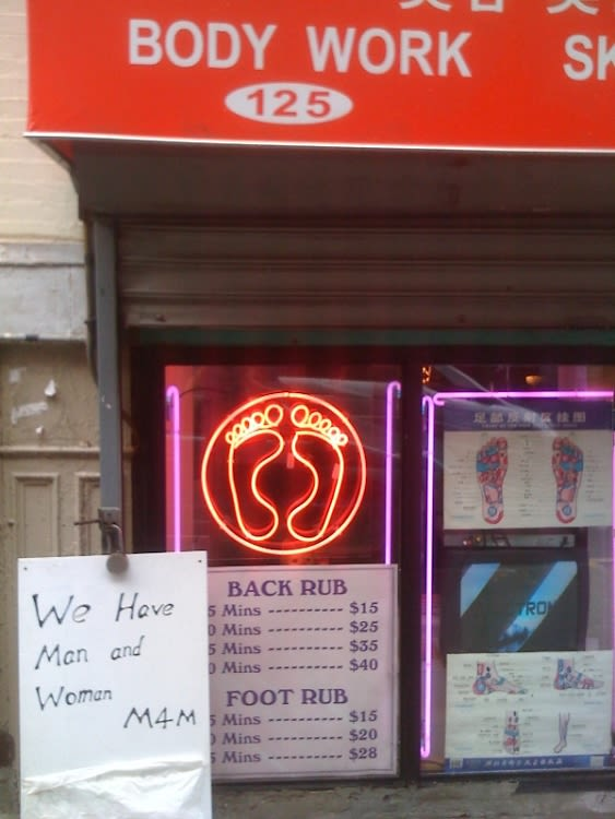 Chinatown Massage Parlor Finds Happy Ending In Craigslist