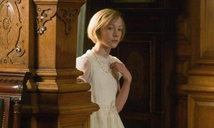 Ronan in Joe Wright's film version of Atonement, for which she was nominated for an Oscar.