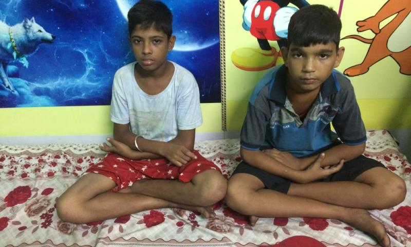 """Two boys rescued from Sealdah's platforms are housed in a """"child friendly"""" police station before they are reunited with their families."""